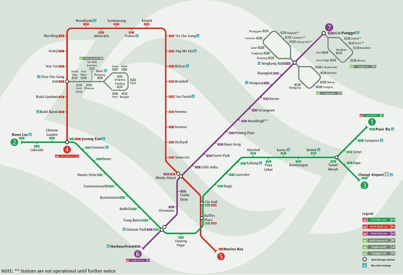 plan du métro de singapour le site de tous les plans de métros